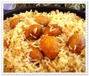 arroz com pequi